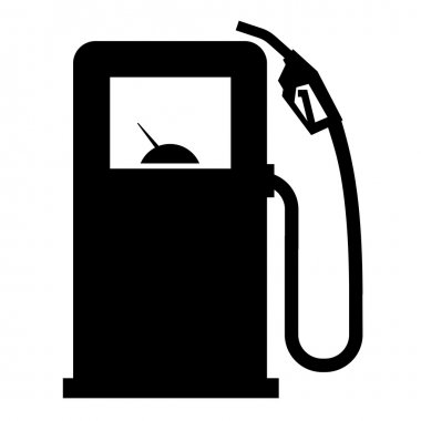 gasoline filling station vector logo design template. gasoline or diesel icon.