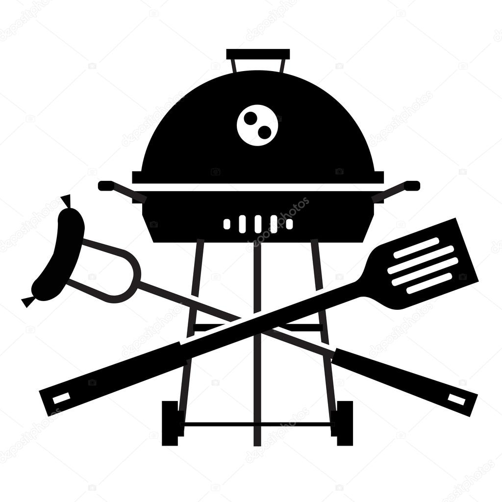 bbq vector logo design template grill or cooking icon stock rh depositphotos com bbq vector free bbq vector free download