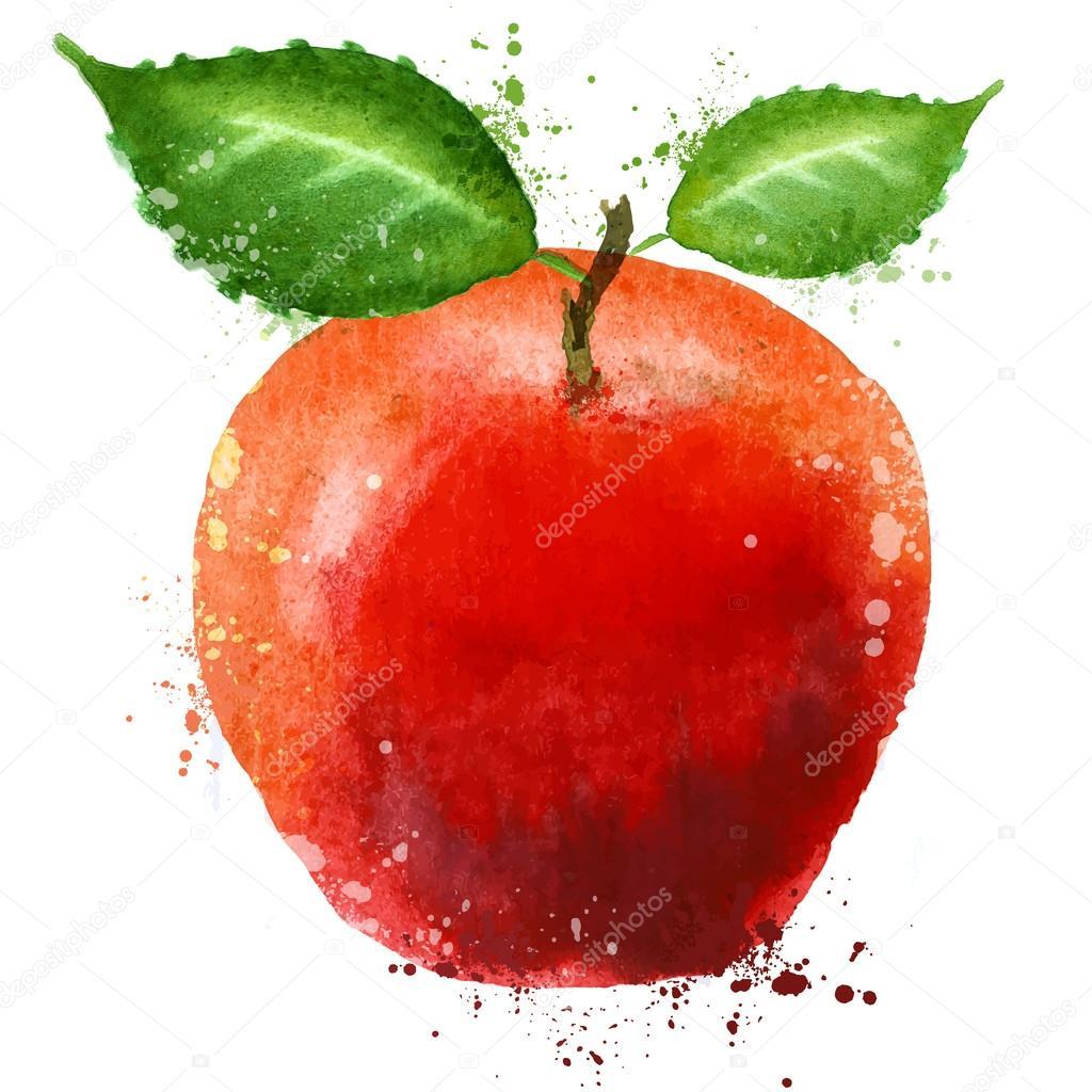 reifer Apfel-Logo-Design-Vorlage. Lebensmitteln oder Obst-Symbol ...