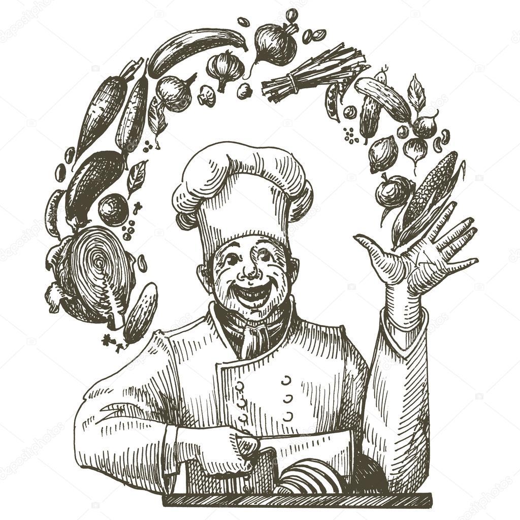 plantilla de diseño de logotipo vectorial para cocinar. icono de ...
