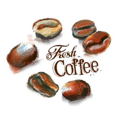 Coffee logo design template