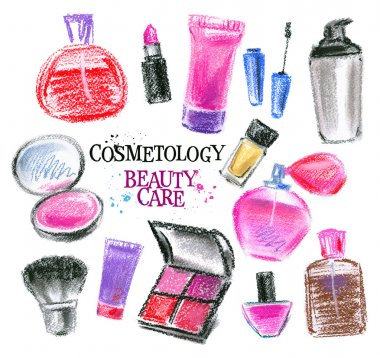 Beauty salon logo design template