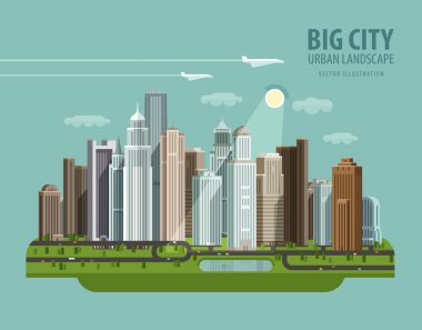 city, town, megapolis vector logo design template. house, building or modern megacity icon.