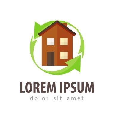 construction, building vector logo design template. build or real estate, house icon