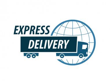 delivery vector logo design template. truck or traffic icon