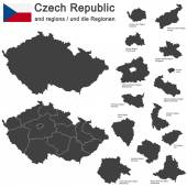 Photo country Czech Republic and regions