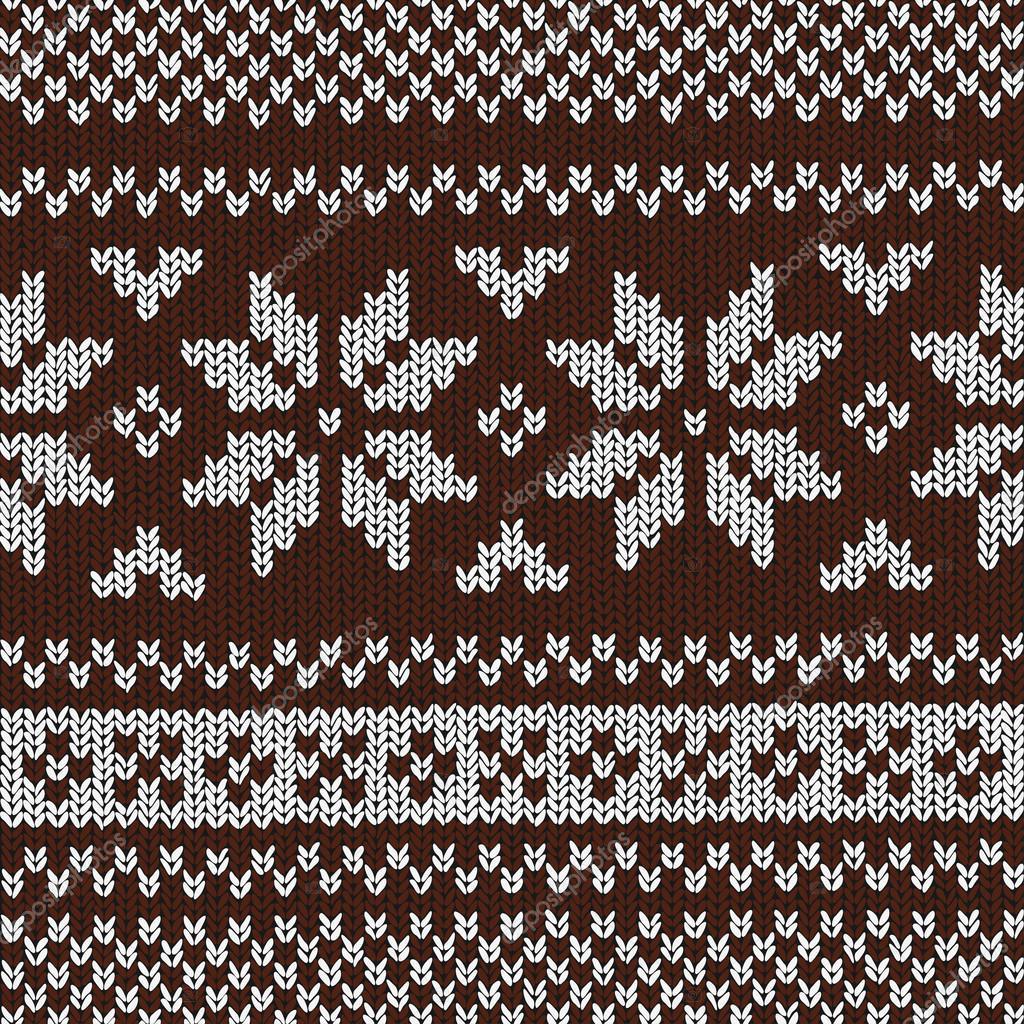 Christmas Background Norwegian Knitting Patterns Stock Vector C Opicobello 52579523
