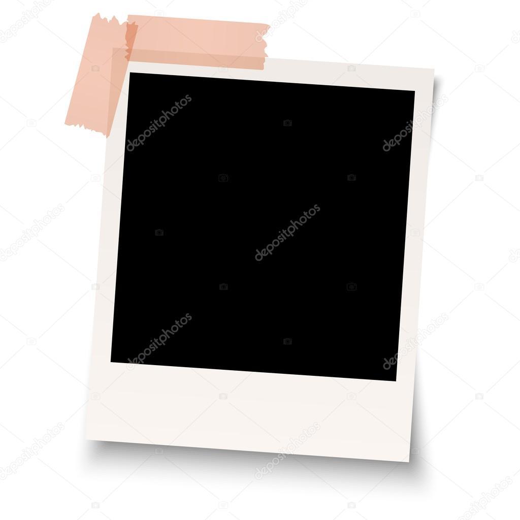 polaroid em branco com fita adesiva vetores de stock opicobello 58086569. Black Bedroom Furniture Sets. Home Design Ideas