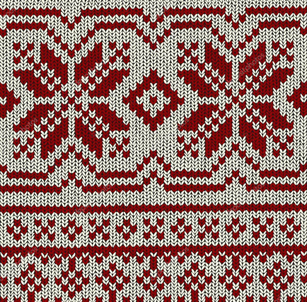 Patrón de noruego - Navidad Vector — Vector de stock © opicobello ...