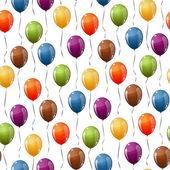 Fotografie fliegende Ballons Hintergrund nahtlos