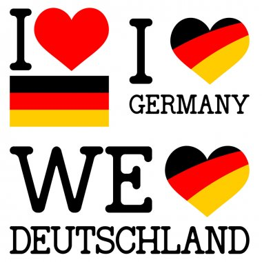 Collection I or WE love germany