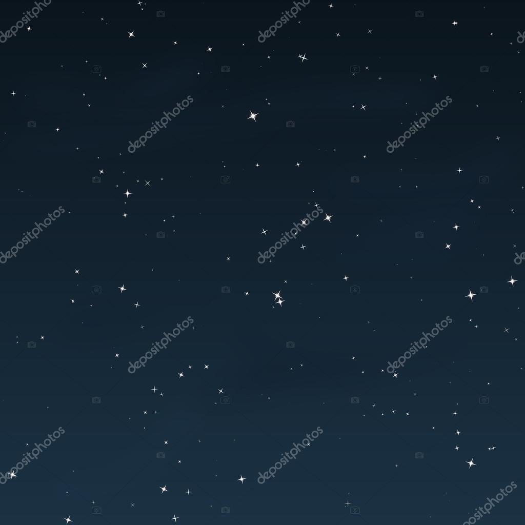 Starry Night - Vector