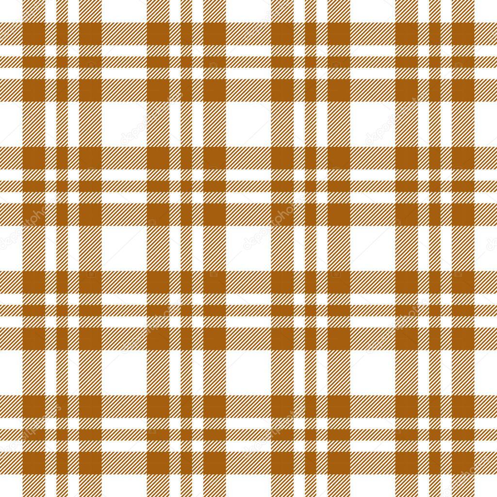 Beau Brown Checkered Table Cloths Pattern Seamless Vector U2014 Vector By Opicobello