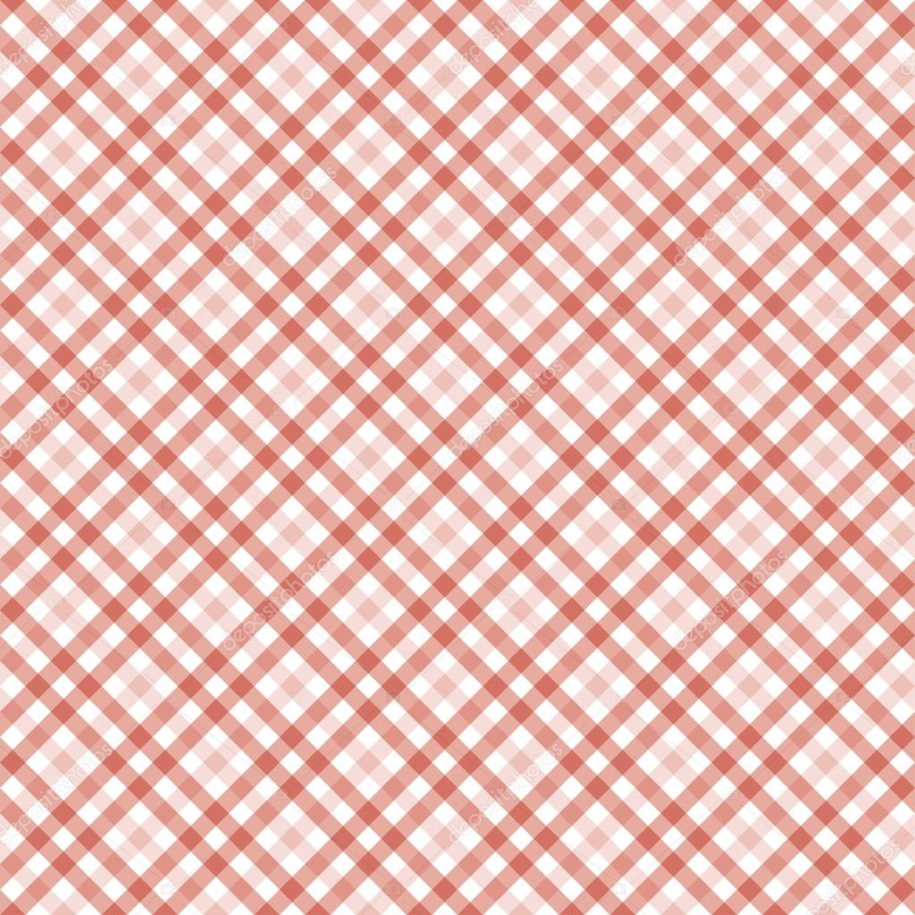 Checkered Table Cloth Background U2014 Stock Vector