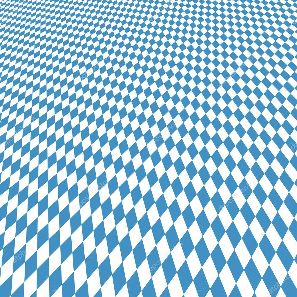 Oktoberfest Hintergrund Blau-weiß Kariert
