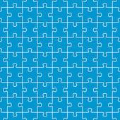 Bezešvé puzzle pozadí modrá