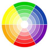 Photo color wheel 6-colors
