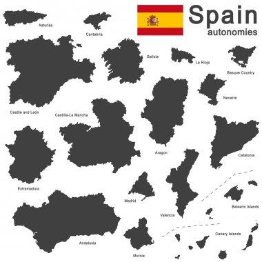 Spain and autonomies