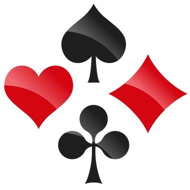playing cards symbols