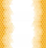 Fotografie seamless honey comb background