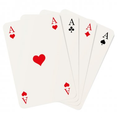four aces isolated
