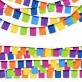 Fotografie Partei-Girlanden, farbig