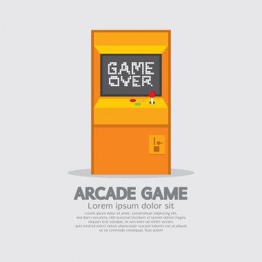 Arcade Machine Vector Illustration stock vector