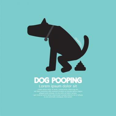 Black Symbol Dog Poop Vector Illustration clip art vector