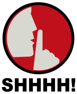 Sign, shhhh