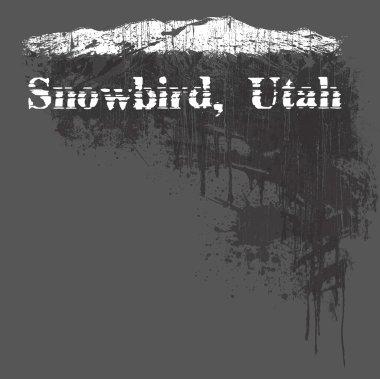 Utah USA State Stamp