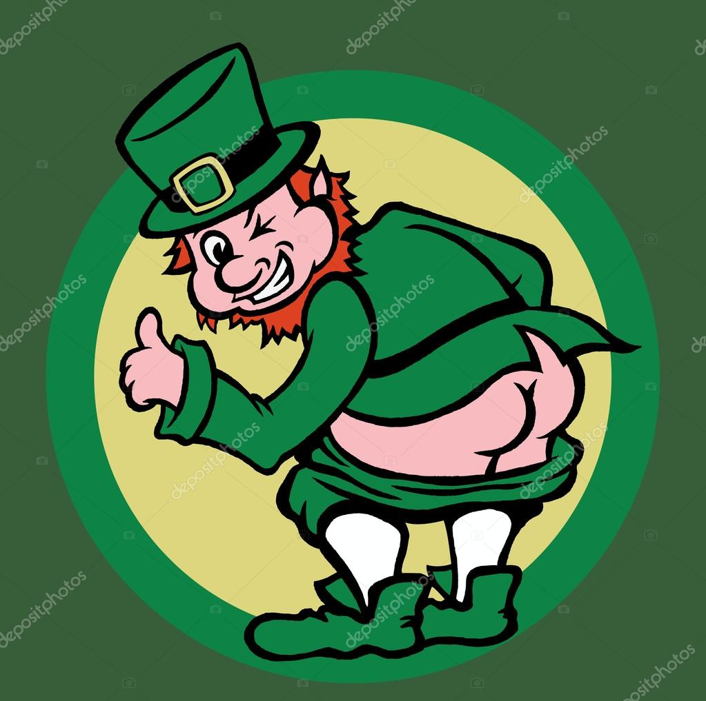 leprechaun symbol of st patrick u0027s day u2014 stock vector scotferdon