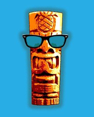 Cool Tiki Statue