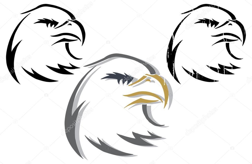 Logo - del águila águilas — Vector de stock © scotferdon ...