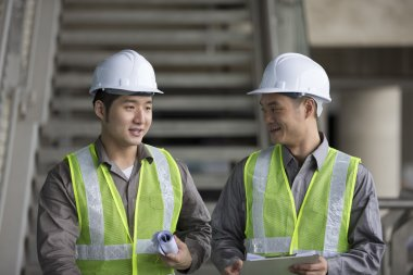 Chinese industrial engineers at work