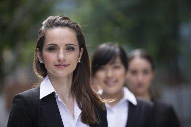 Portrait of three businesswomen
