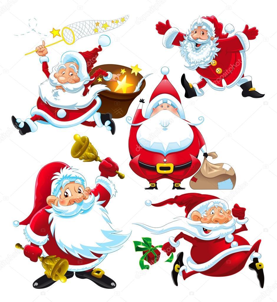 Immagini Comiche Natale.Immagini Babbo Natale Comiche Insieme Di Divertenti Babbo