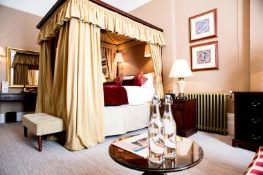 classic style bedroom in hotel