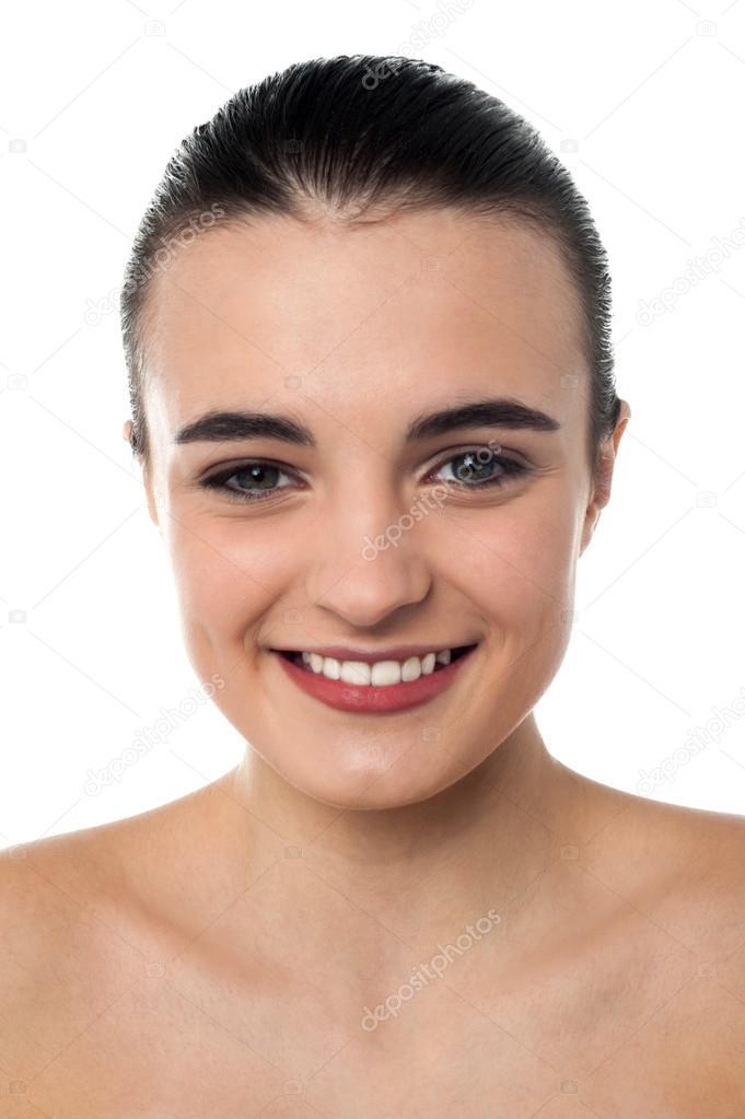Teenager Oben Ohne