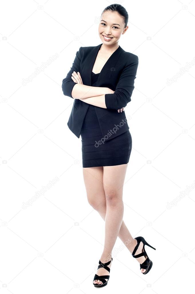 femme en tenue professionnelle photographie stockyimages 84808536. Black Bedroom Furniture Sets. Home Design Ideas