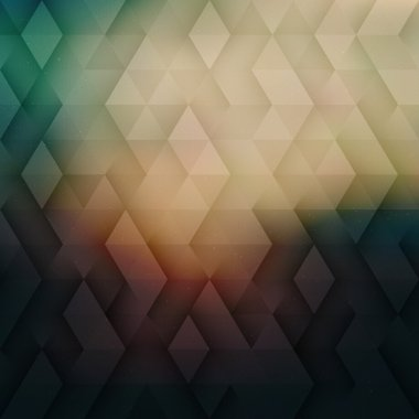Abstract Vector Geometric Technological Glow Background