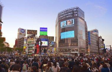 Shibuya shopping area