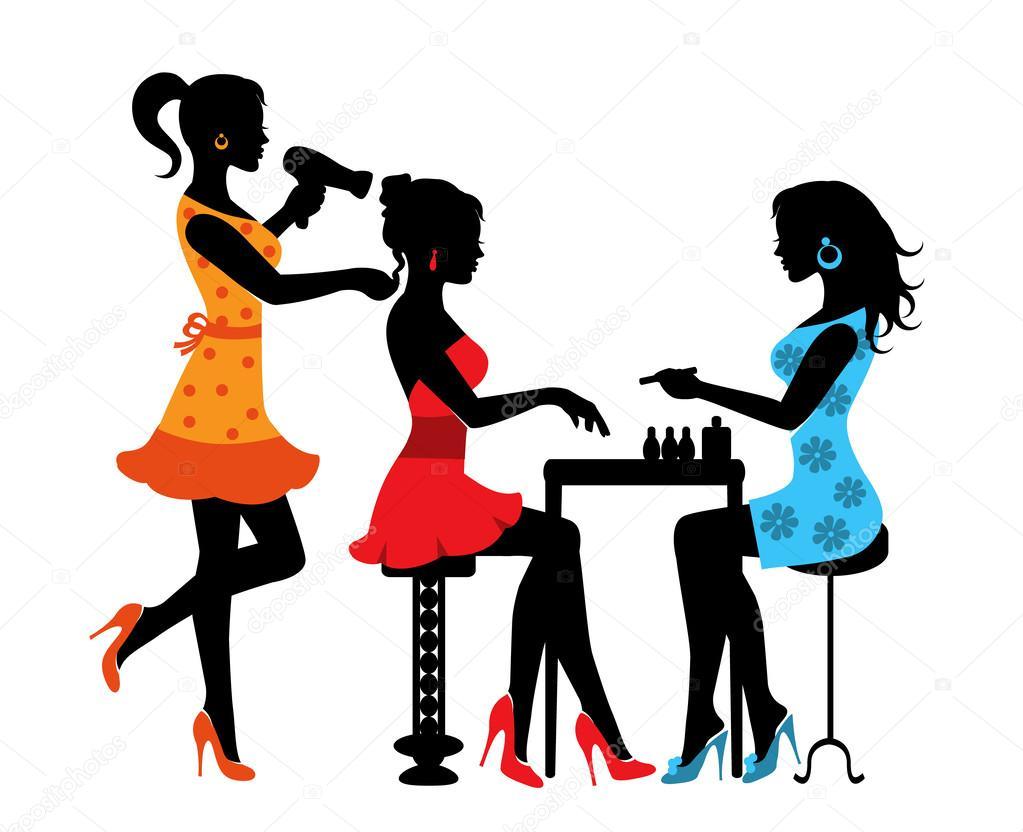 Elite Fashion E Beauty Spa: Mulher Em Um Salão De Beleza