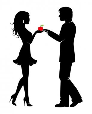 Man, woman, and the forbidden fruit
