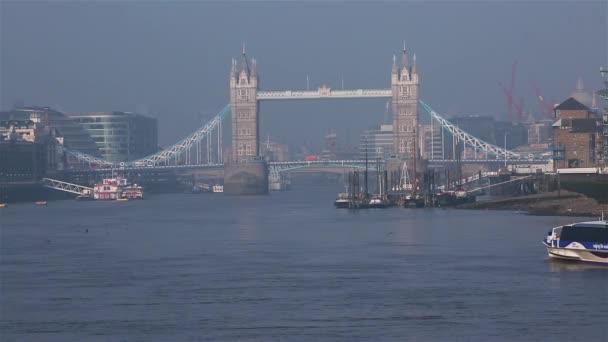 City Cruises tour boat, Tower Bridge in far behind