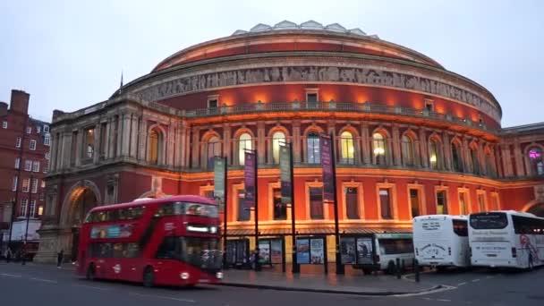 Night view of Royal Albert Hall