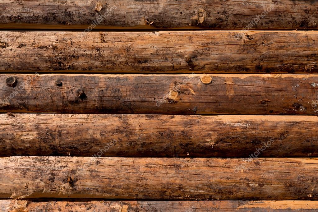 Pared De Madera De Troncos Fotos De Stock C Romantsubin 51870003 - Pared-de-madera