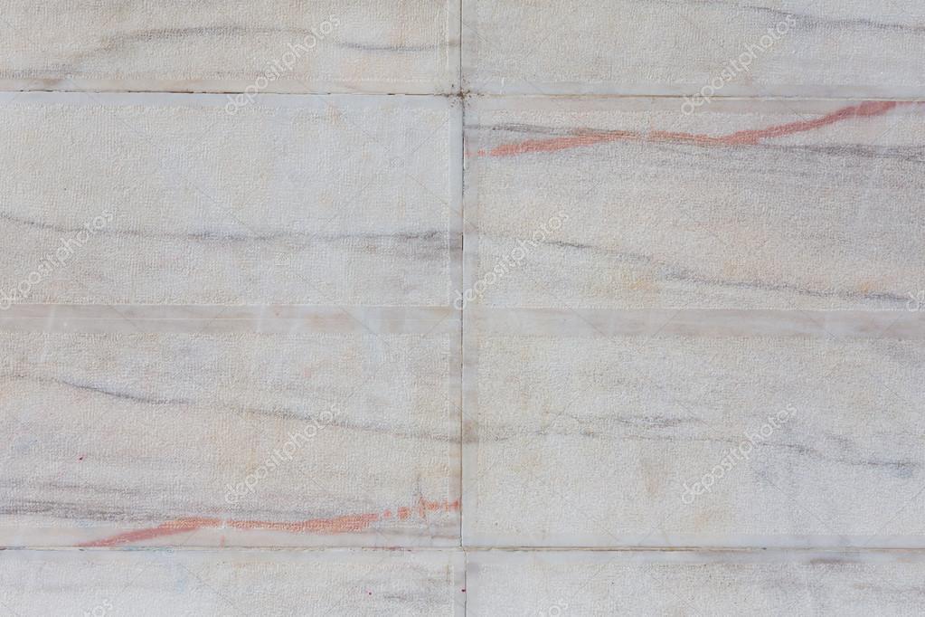 Struttura della parete di piastrelle bianche senza soluzione di