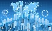 Ekonomika města a graf zisku