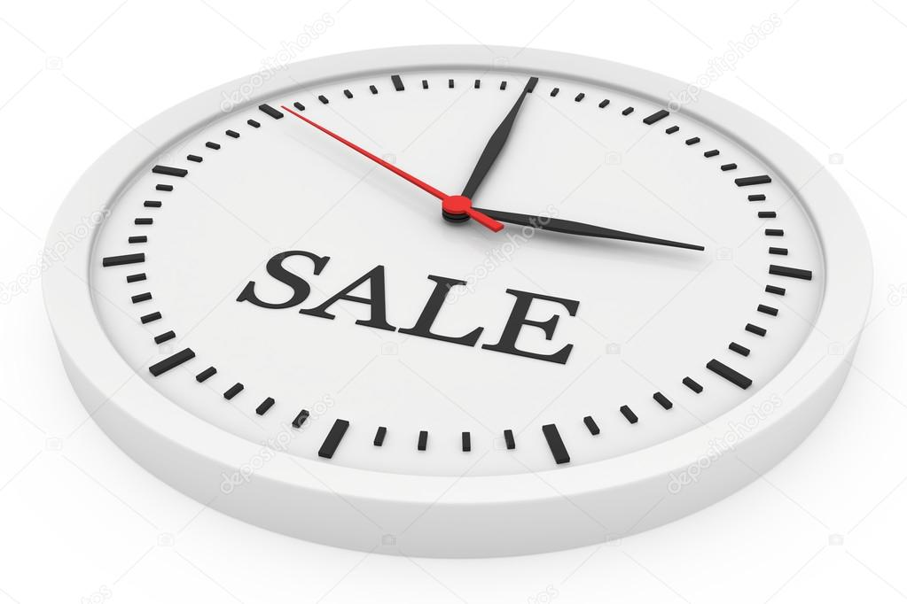 Clock Without Numbers Marked For Sale Stock Photo Mirexonlife
