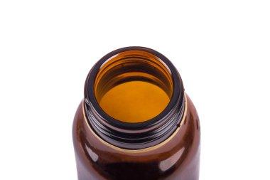 Brown Medical Bottle